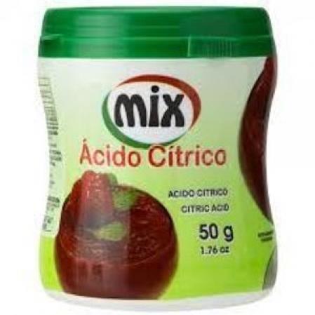 ÁCIDO CÍTRICO 50G MIX