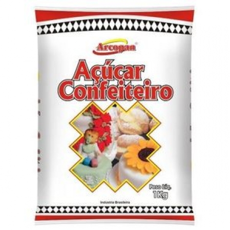 AÇÚCAR DE CONFEITEIRO ARCOPAN 1KG ARCOLOR
