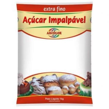 AÇÚCAR IMPALPÁVEL EXTRA FINO ARCOLOR