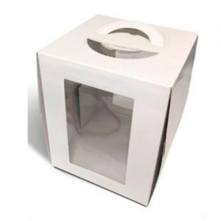 CAIXA BOX 32,5X32,5CM ALTA BRANCA ULTRAFEST