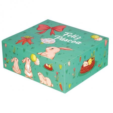 CAKE BOX PP 01 UN PÁSCOA DECORA DOCE