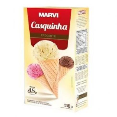 CASQUINHA PARA SORVETE BISCOITO DOCE 138G MARVI