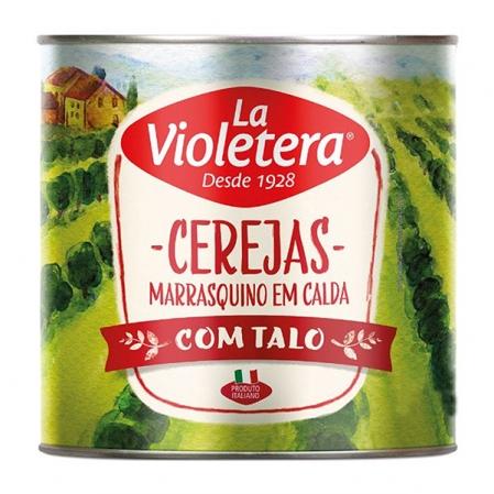 CEREJA MARRASQUINO C/ TALO 1,65KG LA VIOLETERA
