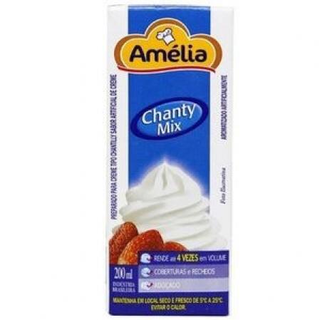 CHANTILLY CHANTY MIX AMÉLIA 200ML