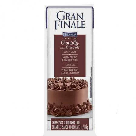 CHANTILLY CHOCOLATE 1,1KG GRAN FINALE