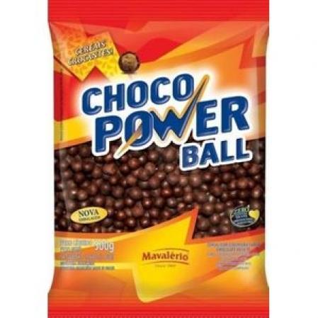 CHOCO POWER BALL CHOCOLATE AO LEITE 500G MAVALÉRIO