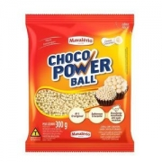 CHOCO POWER BALL MICRO CHOCOLATE BRANCO 300G MAVALÉRIO