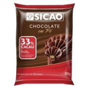 CHOCOLATE EM PÓ 33% 300G SICAO