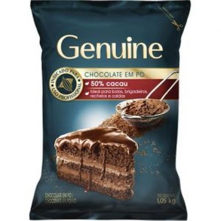 CHOCOLATE EM PÓ 50% 1,05KG GENUINE