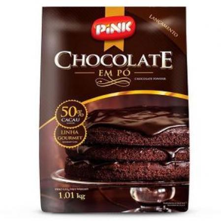 CHOCOLATE EM PÓ 50% CACAU 1,01KG PINK