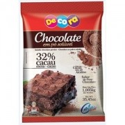 CHOCOLATE EM PÓ SOLÚVEL 32% CACAU 1,005KG  - CACAU FOODS