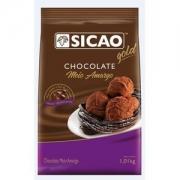CHOCOLATE MEIO AMARGO GOTAS 1,01KG SICAO