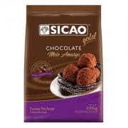 CHOCOLATE MEIO AMARGO GOTAS 2,05KG SICAO