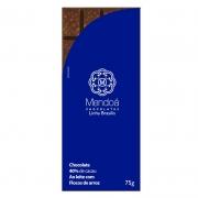 CHOCOLATE MENDOÁ 40% DE CACAU AO LEITE C/ FLOCOS DE ARROZ 75G