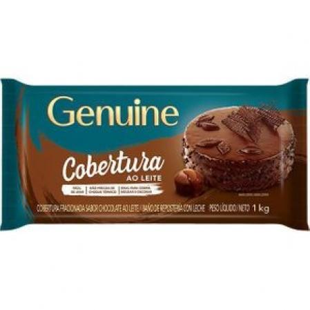 COBERTURA AO LEITE 1KG GENUINE