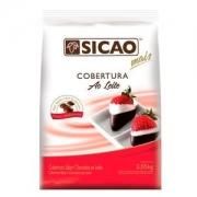 COBERTURA AO LEITE GOTAS 2,05KG SICAO