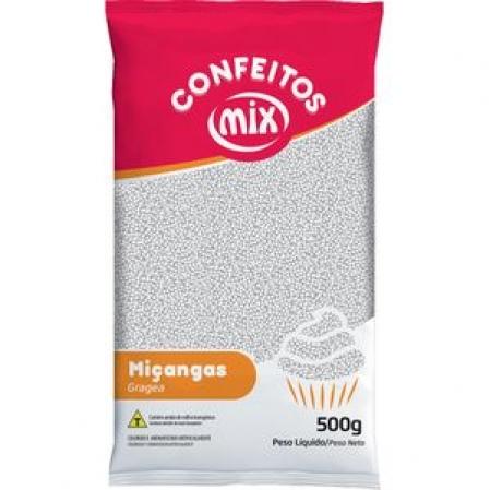 CONFEITO MIÇANGA BRANCA 500G MIX