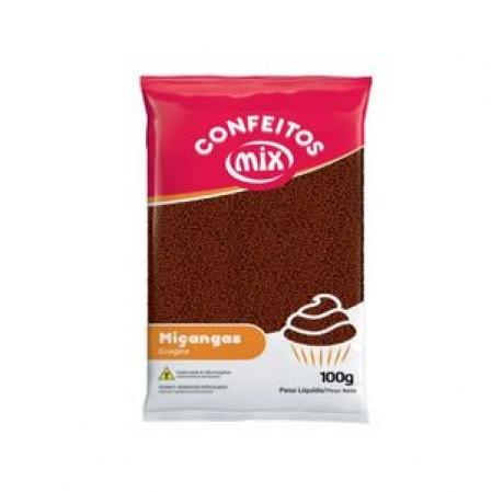 CONFEITO MIÇANGA BRIGADEIRO 100G MIX