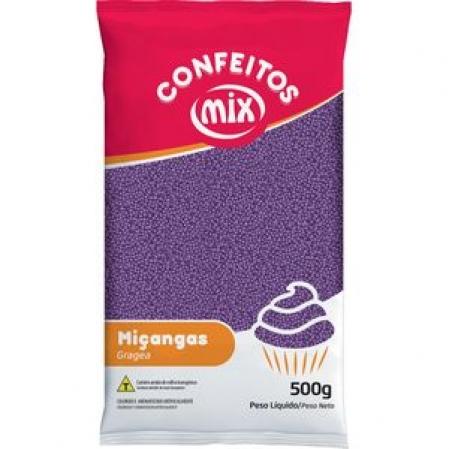 CONFEITO MIÇANGA ROXA 500G MIX