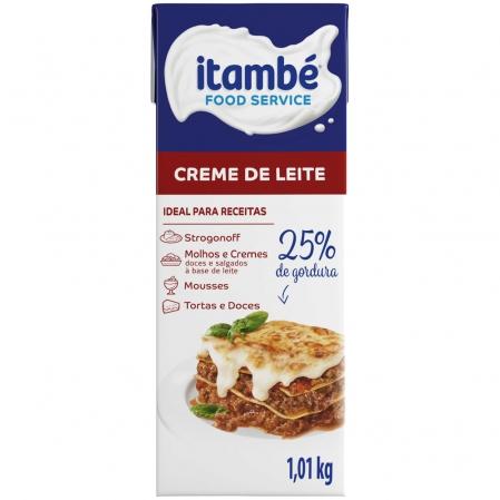 CREME DE LEITE 25% CARTONADO 1,01KG ITAMBÉ