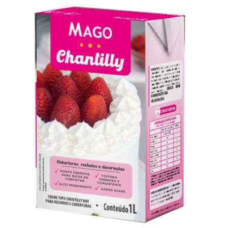 CREME TIPO CHANTILLY UHT 1L MAGO