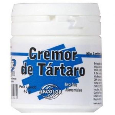 CREMOR DE TÁRTARO 40G ARCOLOR