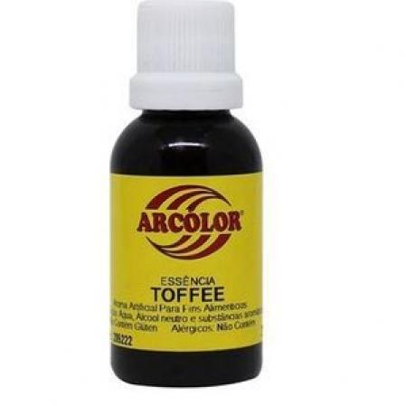 ESSÊNCIA DE 30ML TOFFEE ARCOLOR