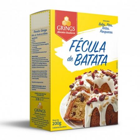 FÉCULA DE BATATA 200G GRINGS