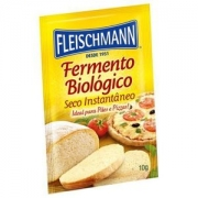 FERMENTO BIOLÓGICO INSTANTÂNEO FLEISCHMAN 10GR