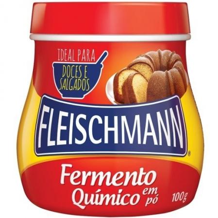 FERMENTO PÓ QUIMICO 100G FLEISCHMANN