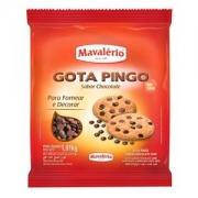 GOTA PINGO SABOR CHOCOLATE 1,01 KG MAVALÉRIO