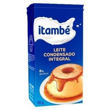 LEITE CONDENSADO CARTONADO 395G ITAMBÉ