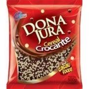 MICRO CEREAL CROC. BRANCO PRETO 500GR- DONA JURA