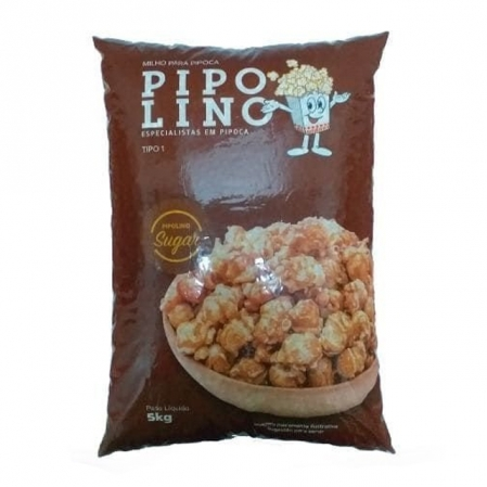 MILHO PIPOCA MUSHROOM SUGAR 5KG PIPOLINO