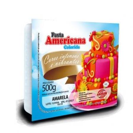 PASTA AMERICANA ARCOLOR 500G AMARELA