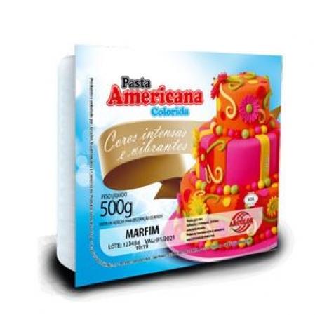PASTA AMERICANA ARCOLOR 500G MARFIM