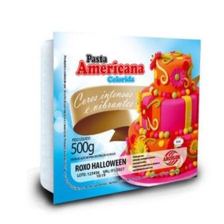 PASTA AMERICANA ARCOLOR 500G ROXO HALLOWEEN