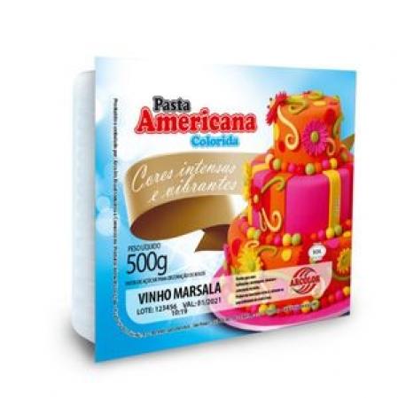 PASTA AMERICANA ARCOLOR 500G VINHO MARSALA