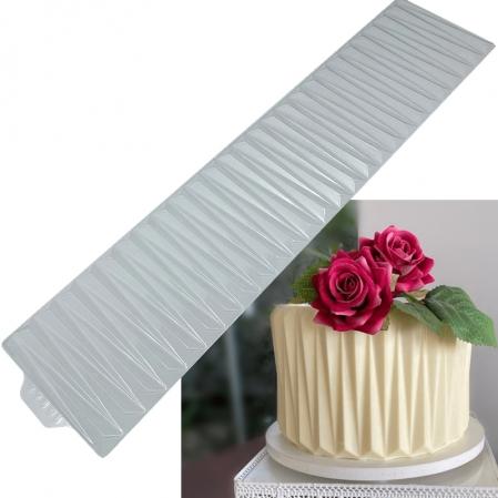 PLACA ORIGAMI CAKE - VINCADO DELICADO ( 10144) BWB