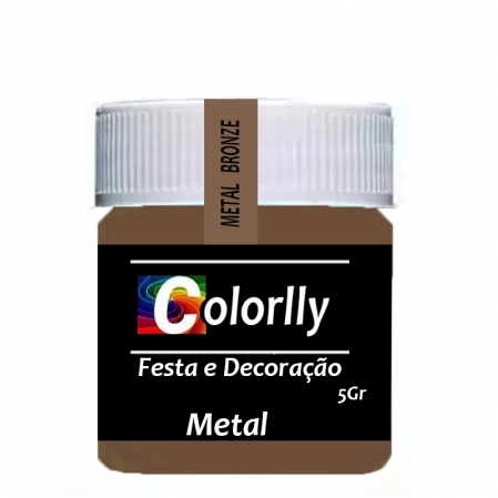 PÓ METAL BRONZE 5G COLORLLY