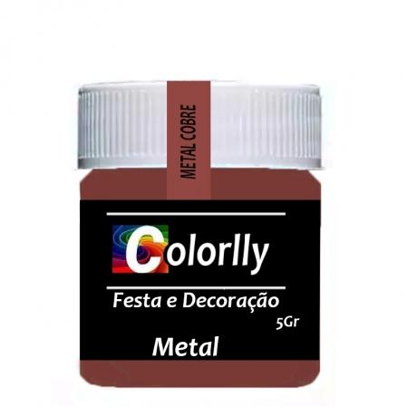 PÓ METAL COBRE 5G COLORLLY