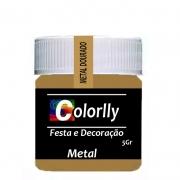 PÓ METAL DOURADO 5G COLORLLY