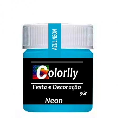 PÓ NEON AZUL 5G COLORLLY