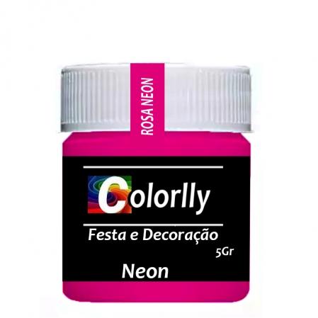 PÓ NEON ROSA 5G COLORLLY