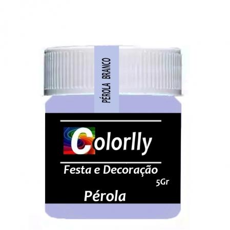 PÓ PÉROLA BRANCO 5G COLORLLY
