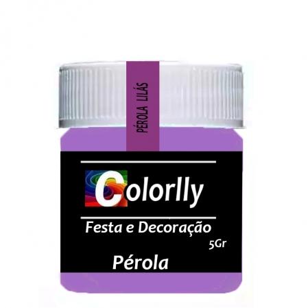 PÓ PÉROLA LILÁS 5G COLORLLY