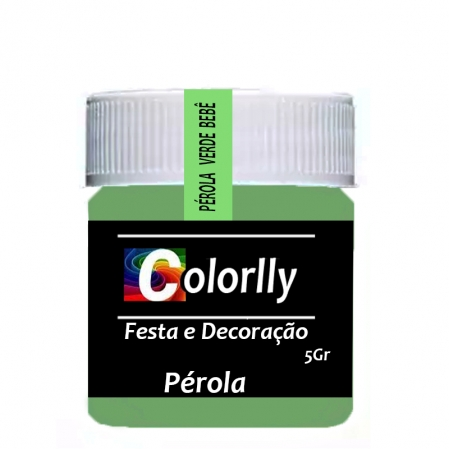 PÓ PÉROLA VERDE BEBÊ 5G COLORLLY