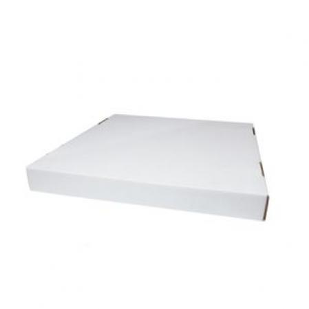 TAMPA CAIXA EMPILHAR 35X35 BRANCA PACBOX