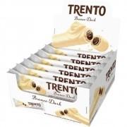 WAFER TRENTO CHOCOLATE BRANCO 16UNX32G PECCIM