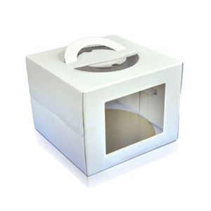 CAIXA BOX 28,5X28,5CM BRANCA ULTRAFEST